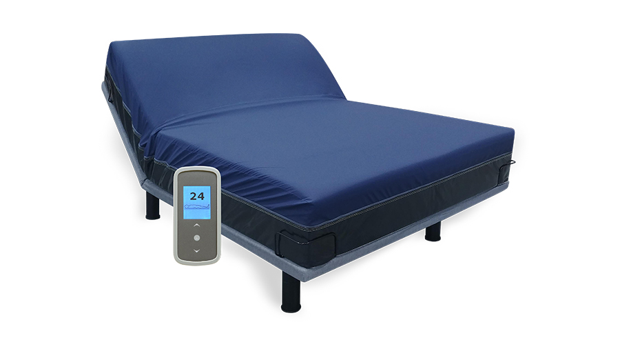 Instant Comfort® air-adjustable number bed designed specifically for sleep labs.