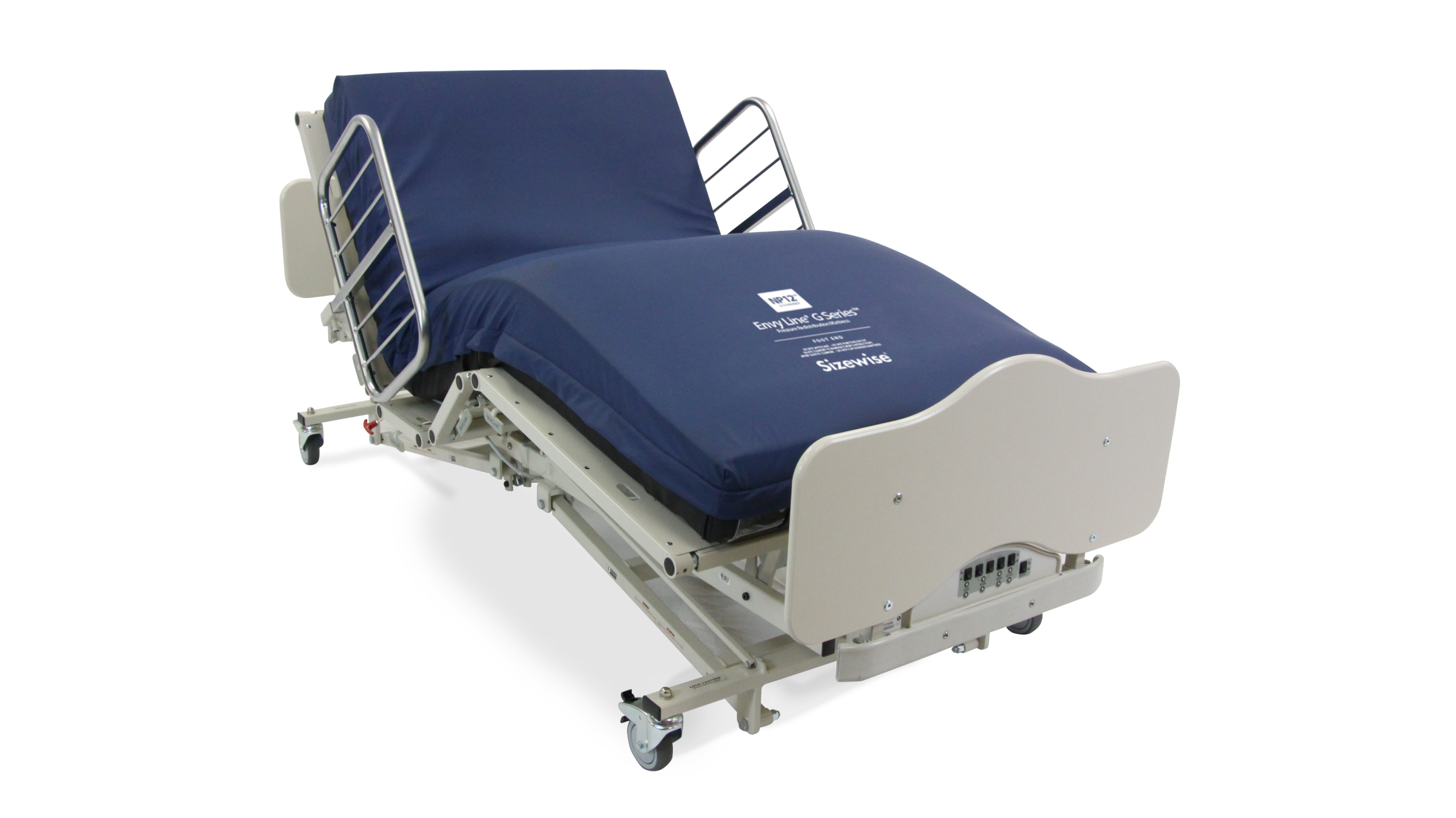 Fully electric bed includes Comfort Chair position