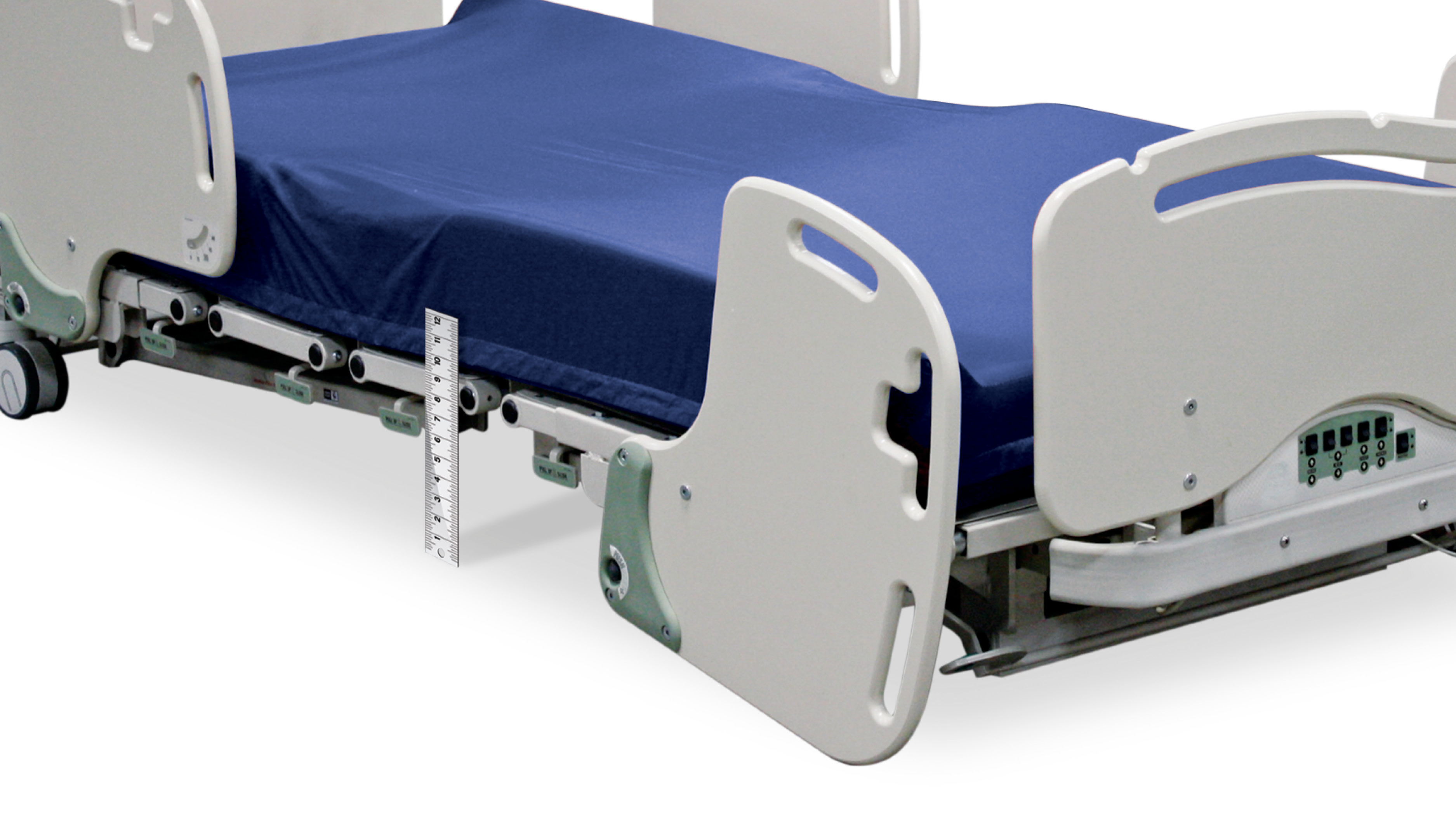"With a deck low of 9"", Evolution® is the lowest full-feature bed frame"