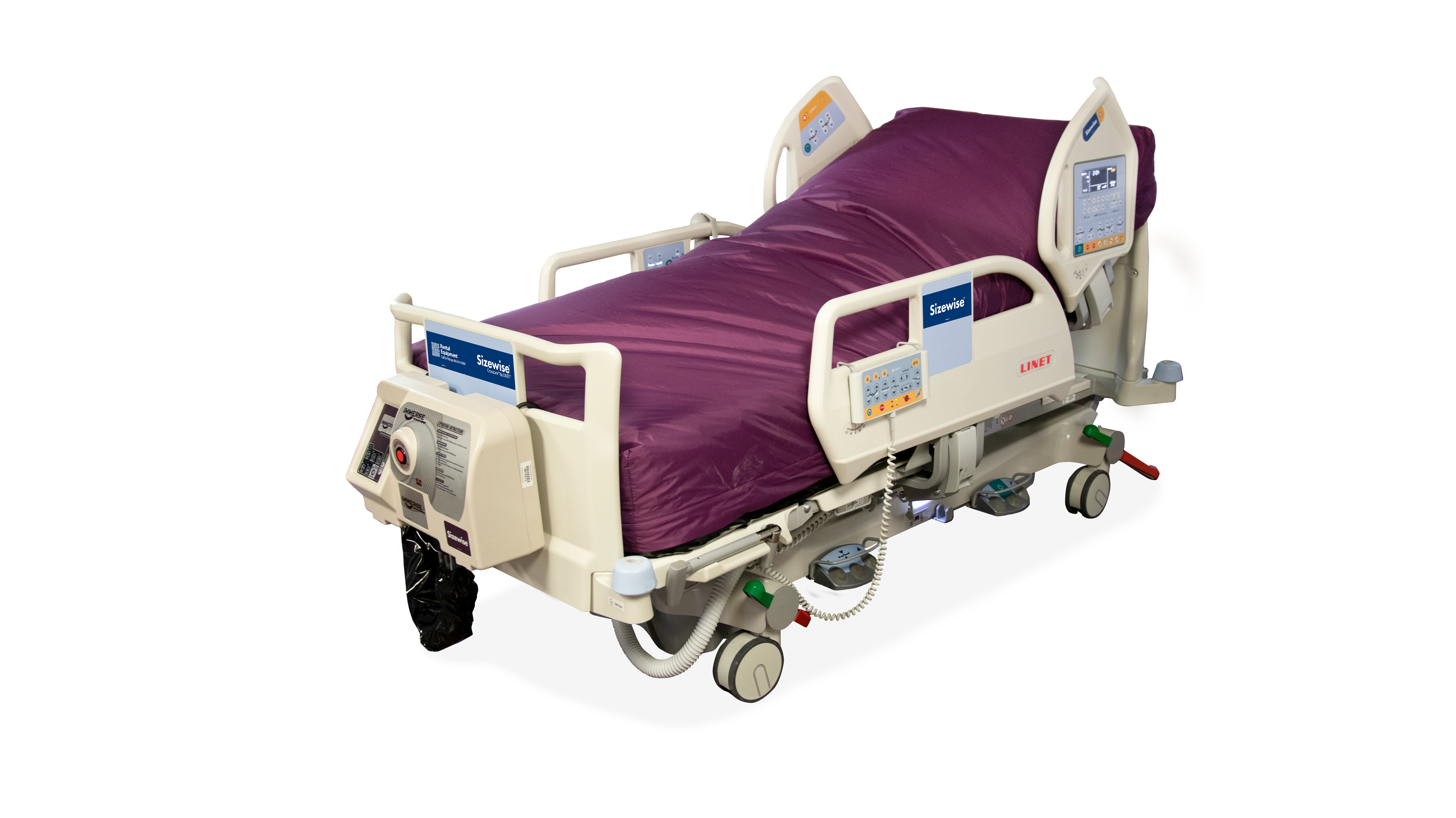 Crosscare®: a Linet bed for rent