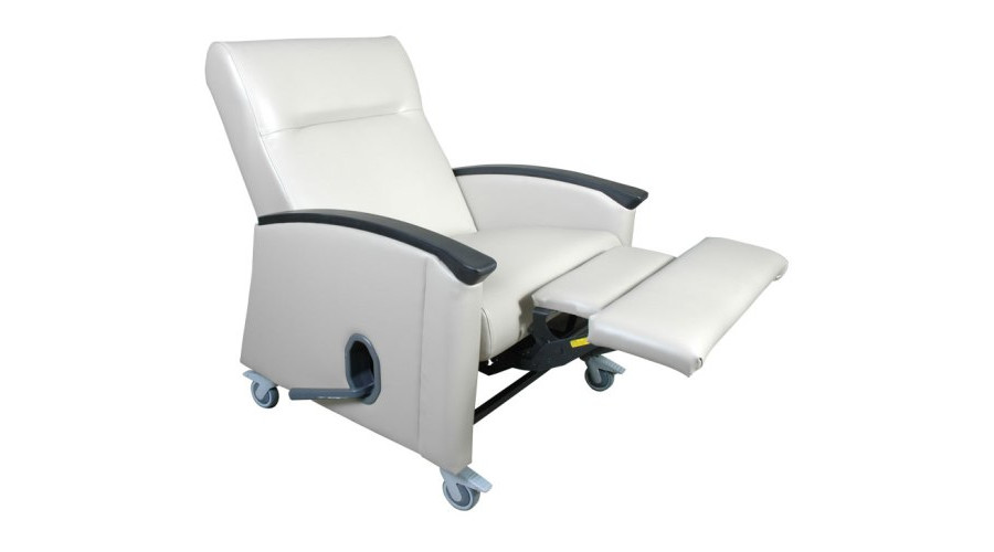 Bedside Recliner In Reclined Position