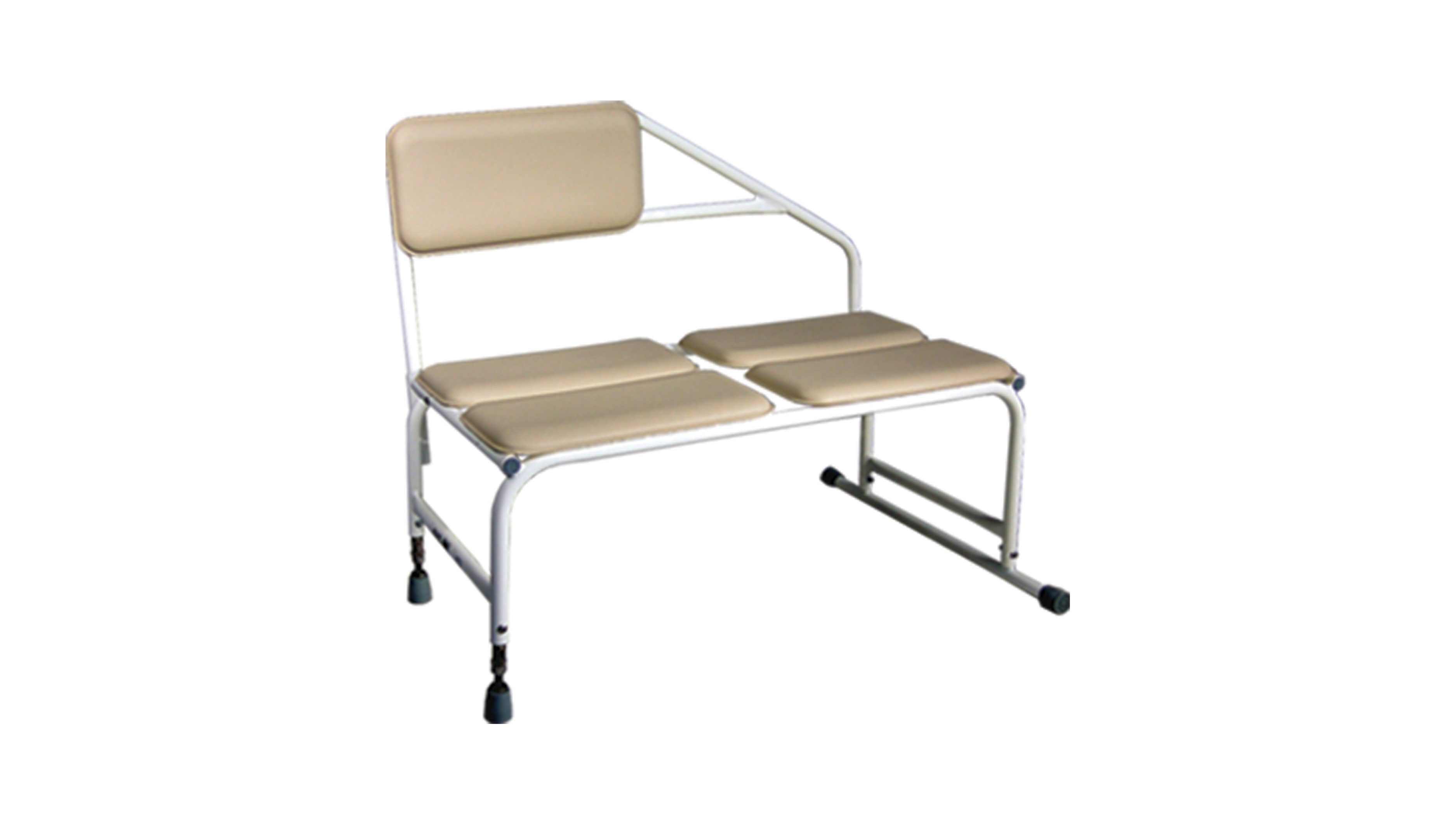 Shower And Tub Transfer Bench With Back Rest