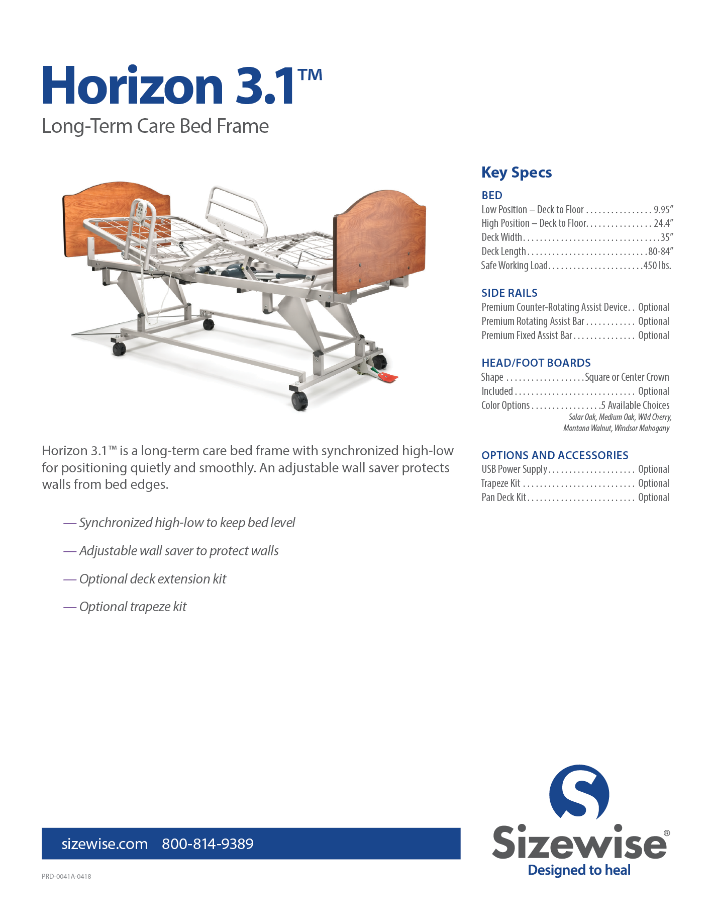 Sizewise Hospital Beds And Bed Frames For Bariatric