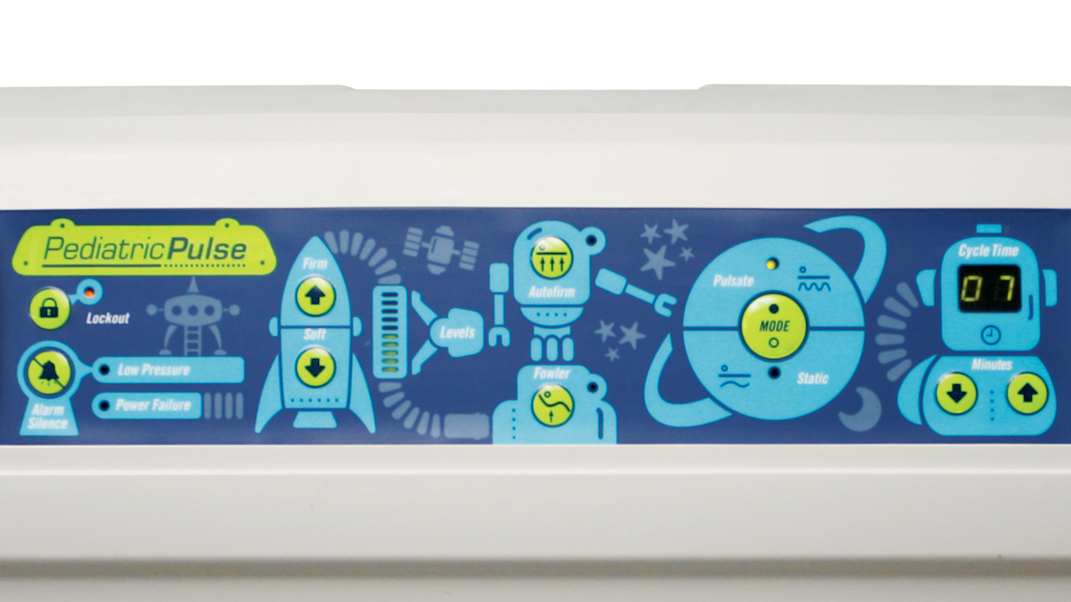 Pediatric Pulse Control Unit With Kid-Friendly Design