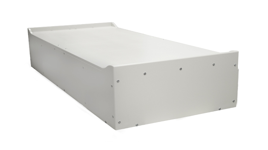 Overview of optional low-profile headboard and footboard